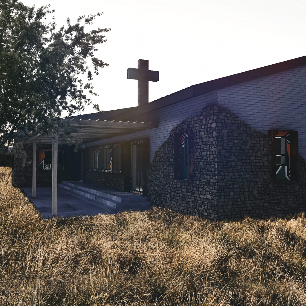 Rural Church 2